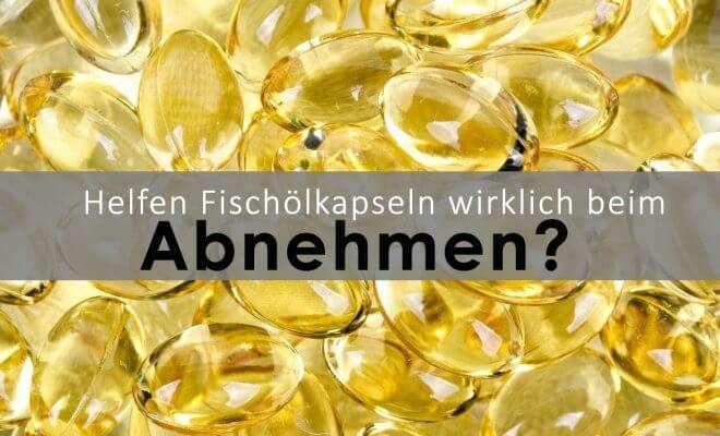 Abnehmen mit Fischöl-Kapseln
