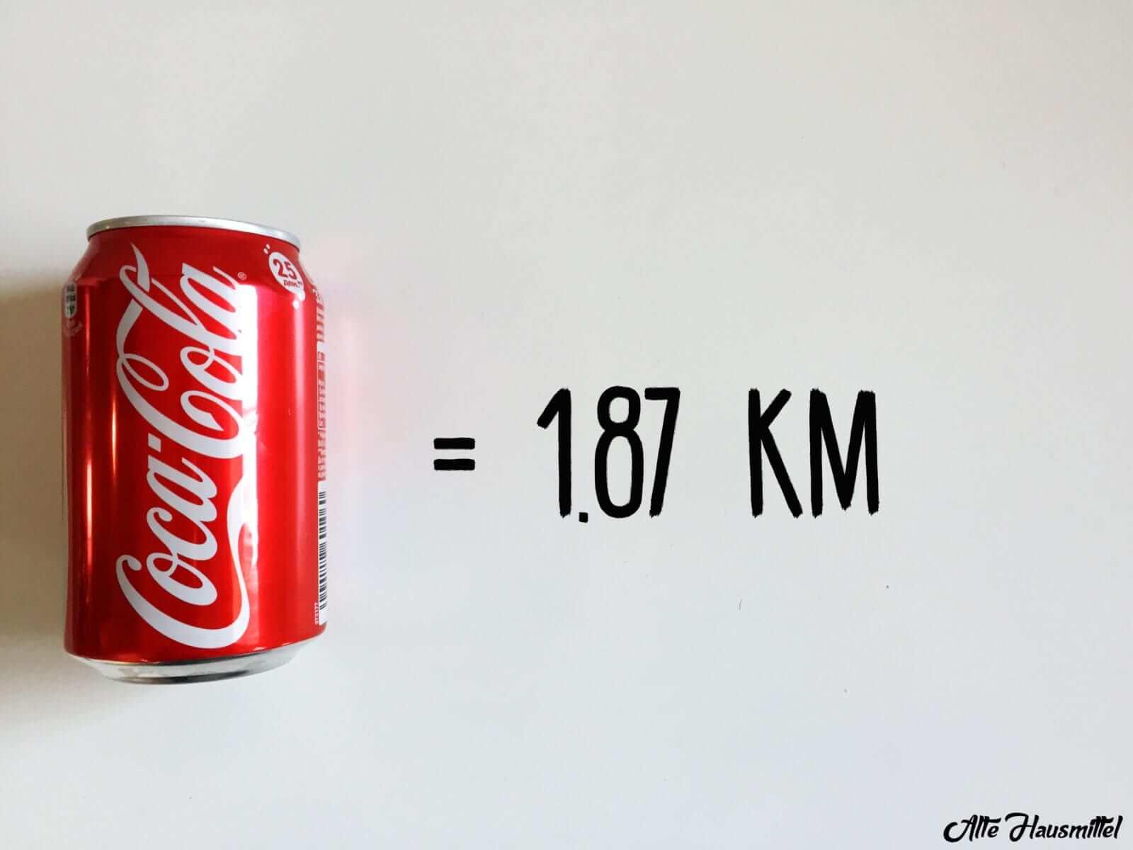 wie lange joggen um coca cola zu verbrennen