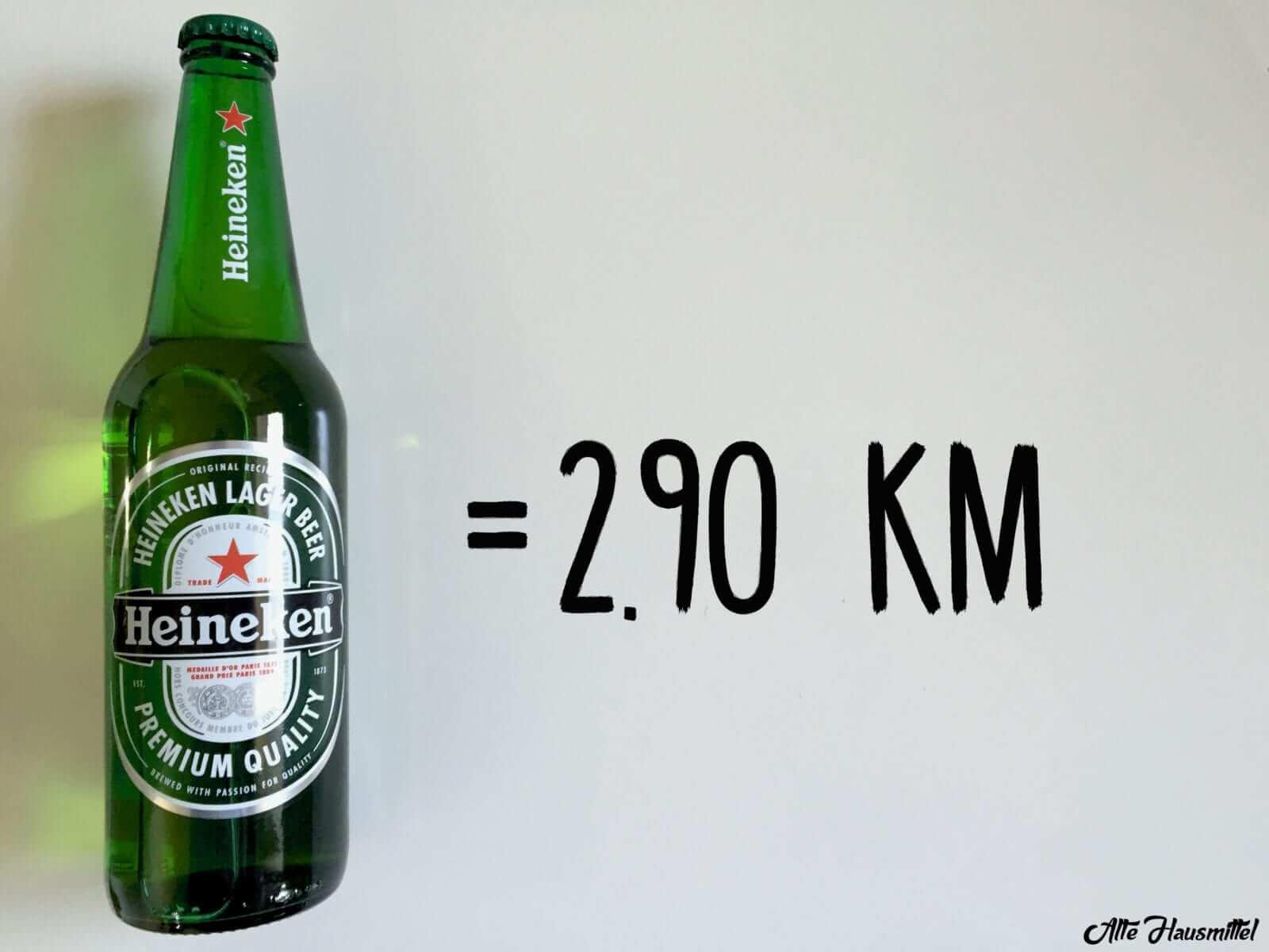 wie lange joggen um Bier zu verbrennen