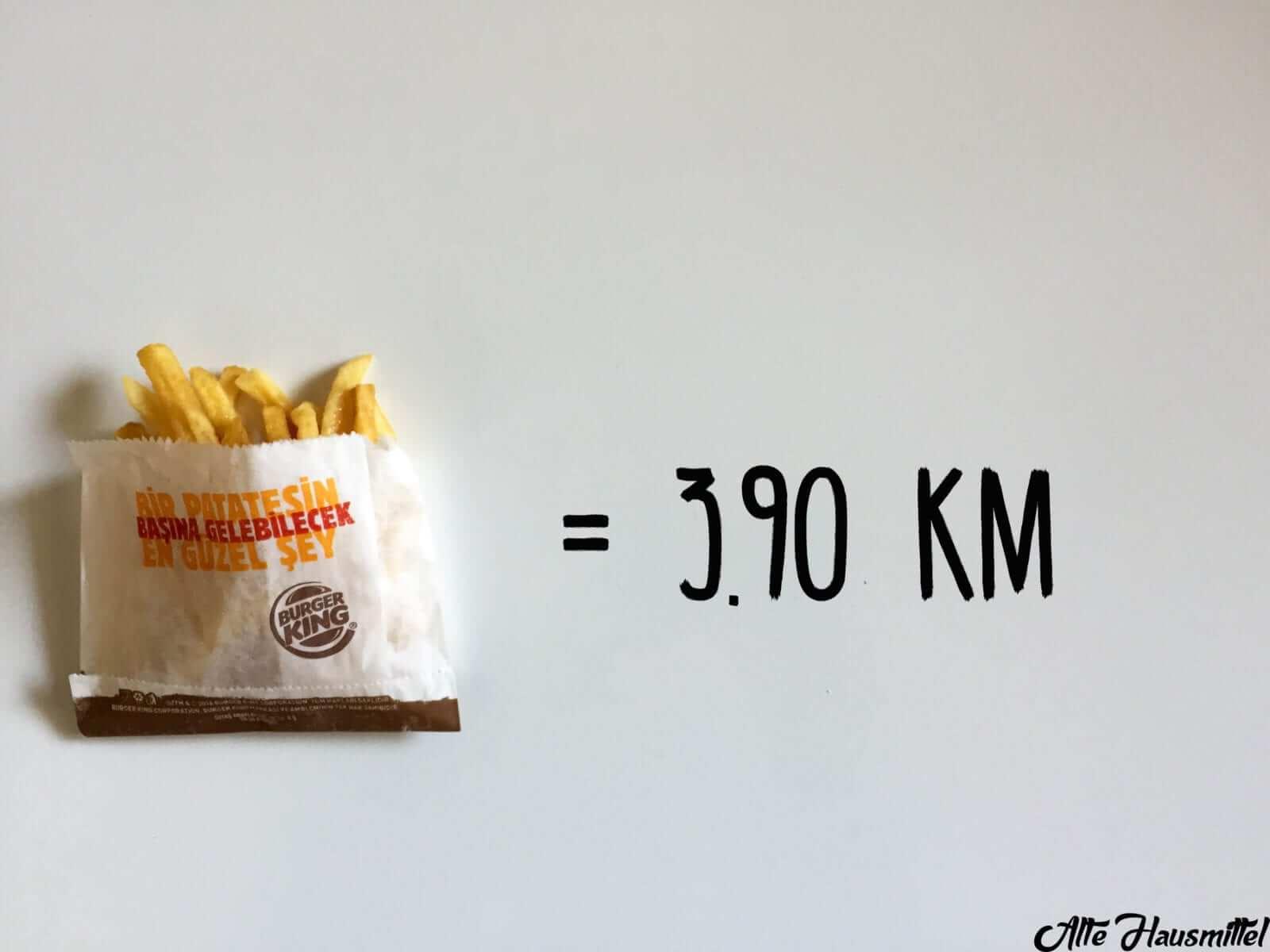 wie lange muss man joggen um fritten zu verbrennen